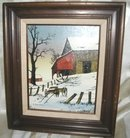 Original Country Oil Painting Signed H. Hargrove