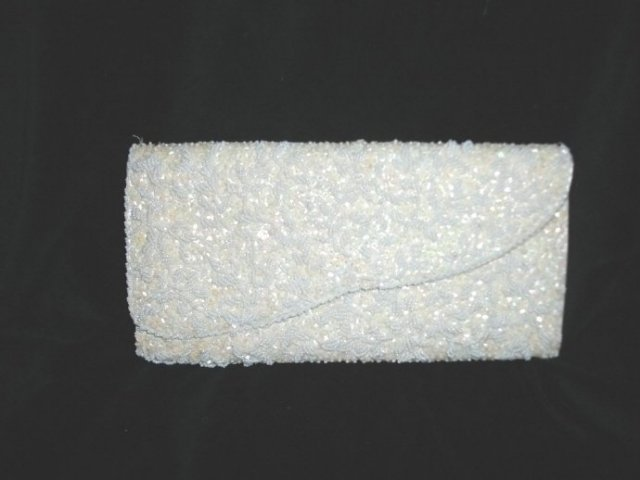 Vintage Bead & Sequence Purse