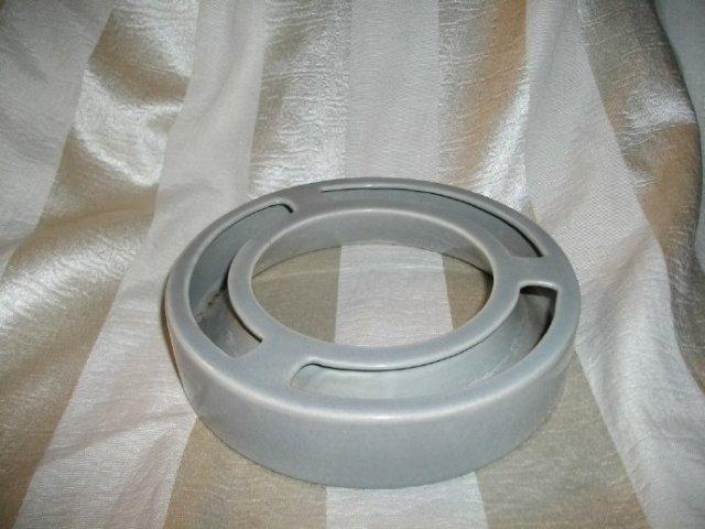 Vintage Ceramic Pansy Ring