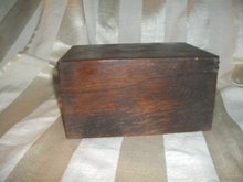 Antique Solid Oak Box w/Lid