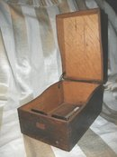 Antique Solid Oak Box w/Lid
