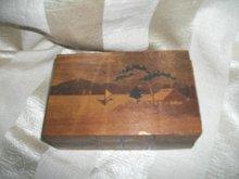 Vintage Wooden Magic Box
