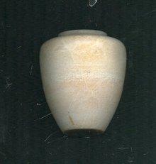 Antique Carved Alabaster Miniature Vase