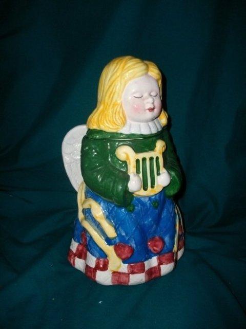 Angel Cookie Jar