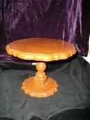 Vintage Hand Made Wooden Table Riser