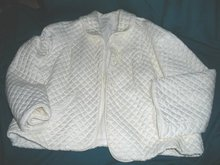Vintage Quilted Dressing Jacket