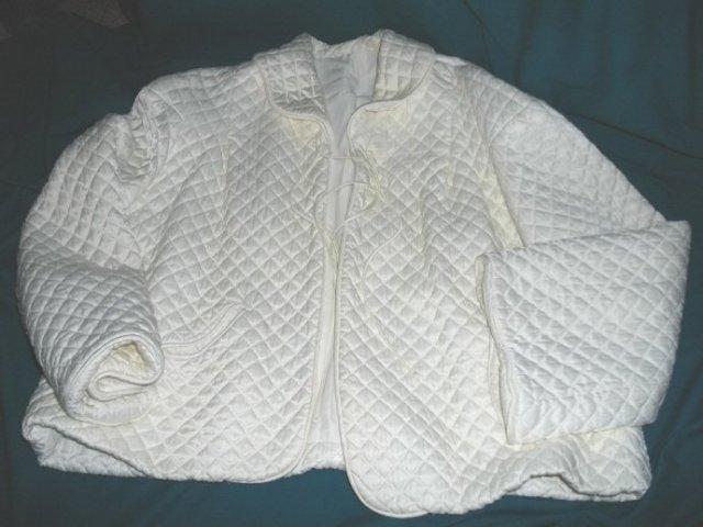 Vintage Quilted Dressing Jacket