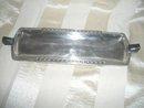 Vintage Crusader Silver Tray w/Bakelite Handles
