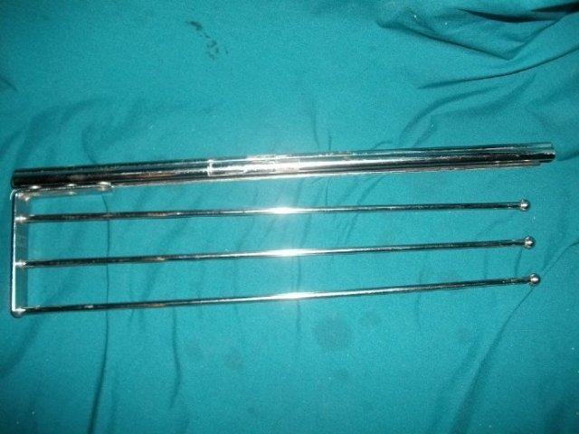 Vintage Chrome Towel Bar &/or Holder