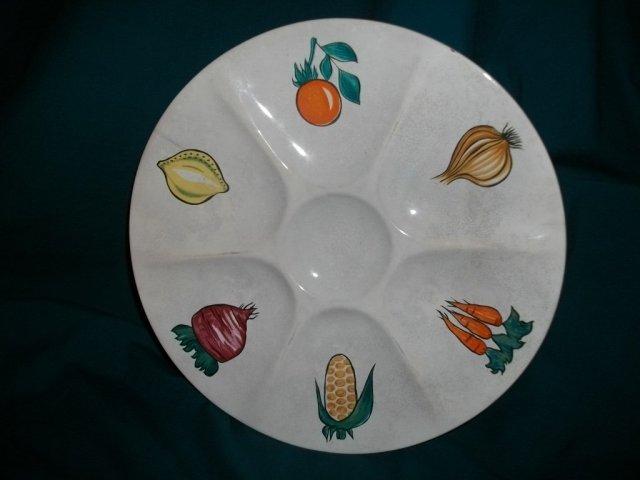 Vintage Villeroy & Boch  Snack  Plate