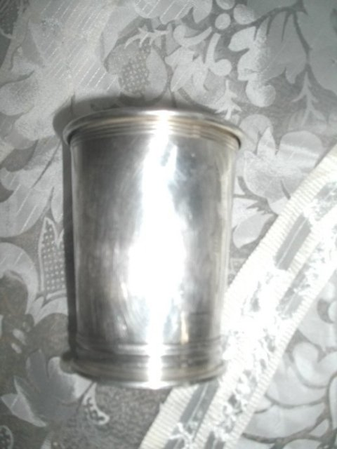 Vintage Silver Beaker Hallmarked Newport