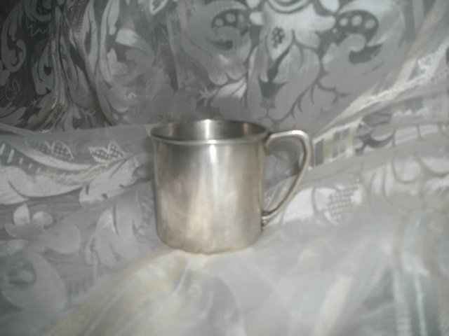 Vintage Silver Baby's Cup