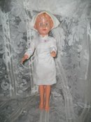 Vintage Soft Plastic Nurse Doll