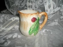 Vintage Majolica Small Pitcher