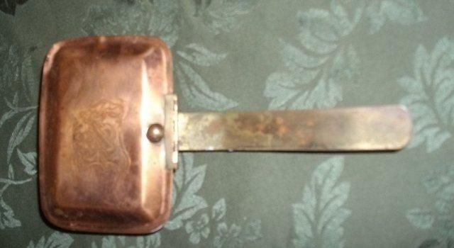 Vintage Copper Silent Butler