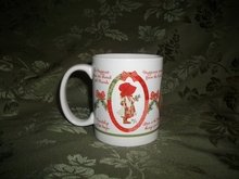 Holly Hobbie Christmas Mug