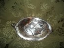 International Silver Rose Leaf Dish