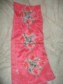 Vintage VERA  Pink Rose Scarf