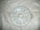 Vintage  EAPG Glass Divided Dish