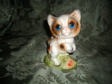 Vintage Porcelain Kitty Cat  Figurine