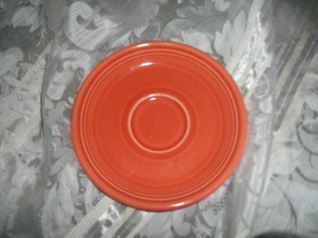 Persimmon Fiesta Saucer