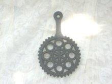 Vintage Wilton Cast Iron Trivet