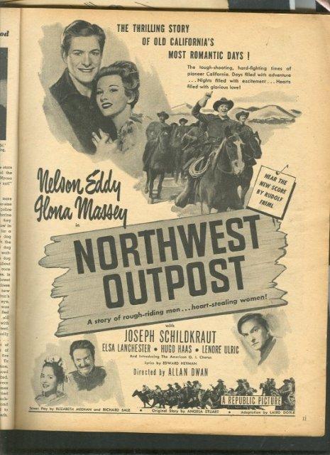 Vintage Western Movie Ad