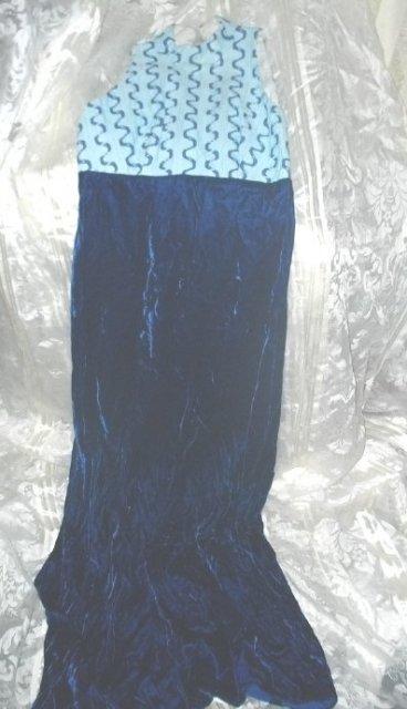 Vintage 2 Pc Velvet Dress