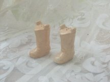 Vintage Cowboy Boot Salt & Pepper Shakers