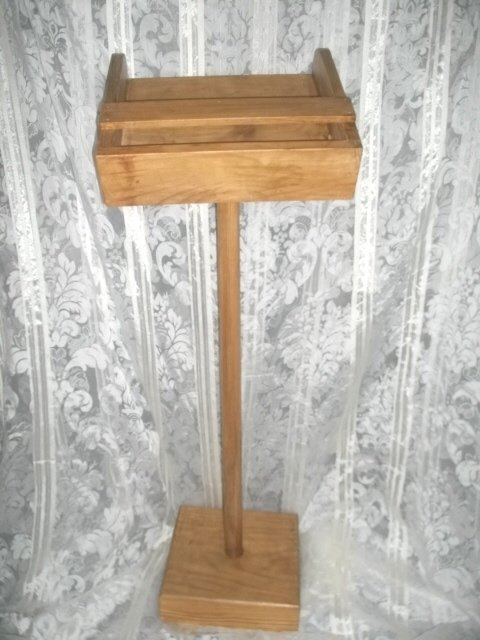Full Size Wooden Podium or Book Holder