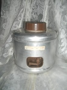 Vintage 1 Gallon Aluminum Thermos