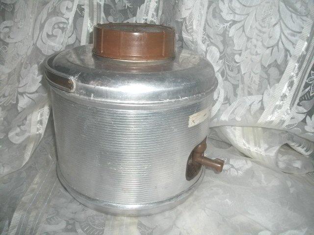 Vintage 1 Gallon Aluminum Thermos