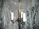 Vintage Floor Lamp w/Shade Pair