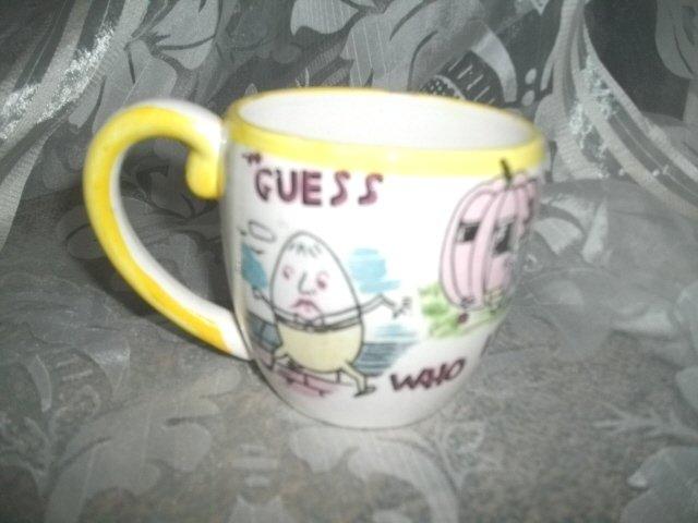 Vintage Humpty Dumpty Children's Cup