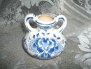 Vintage Delt's Blue & White Vase