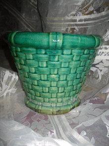 Vintage Majolica Planter