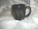 Vintage Black Frankoma Pottery Mug