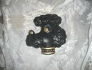 Vintage Black Poodle Wall Decoration