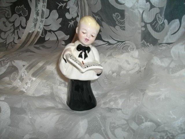 Vintage Porcelain Choir Boy Figurine