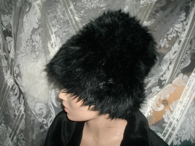 Vintage Faux Fur Winter Hat