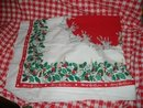 Vintage Christmas Tablecloth