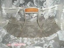 50's Modern Metal Mesh Basket