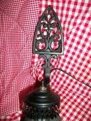 Vintage Style Cast Iron Trivet  Lamp