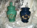 Vintage Porcelain Apothecary Jars