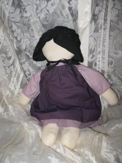 Handmade Amish Cloth Doll
