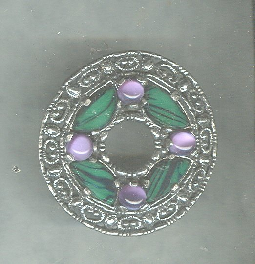 Vintage Miracle Celtic Pendant / Pin