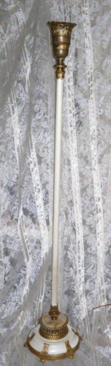 Vintage Alabaster Floor Lamp  **MUST SEE**