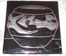 Vintage Black Clay Art Pottery Tile