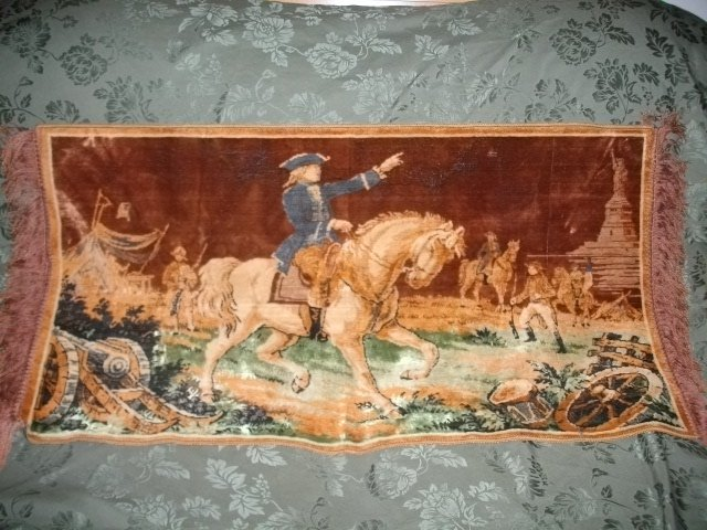 Vintage General George Washington Tapestry