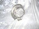 Enamel & Rhinestone Clock